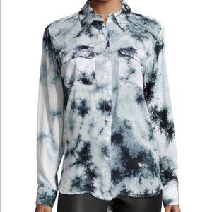 Neiman Marcus Tie Dye Blouse